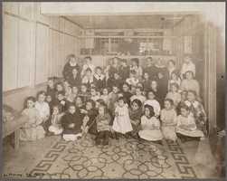 Boston Public Library: North End Branch clubroom