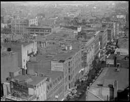 1930: North End, Hanover Street from Pemberton Square