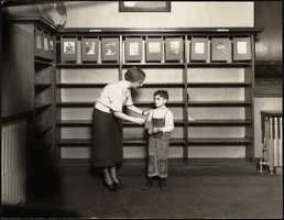 1932: Fine cancellation week and the Boston Public Library North End branch
