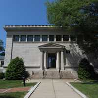 The Ray Memorial Library building was dedicated in 1904.