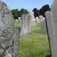 Many graves date back to the early and mid-1800s.