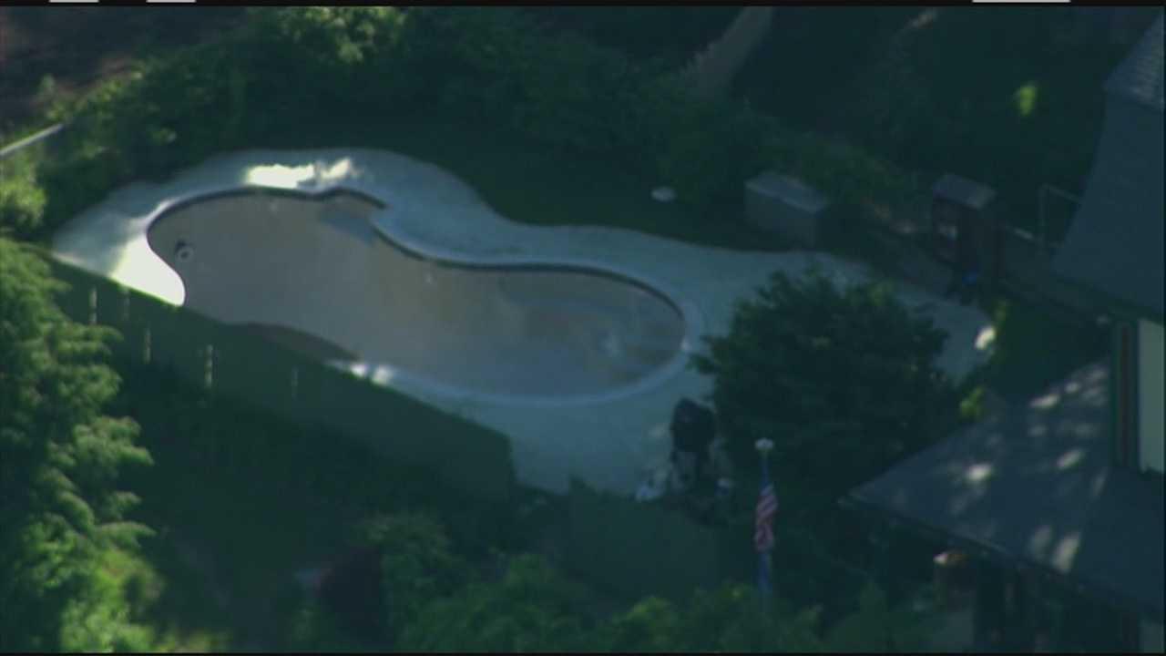 Pool hopping teens