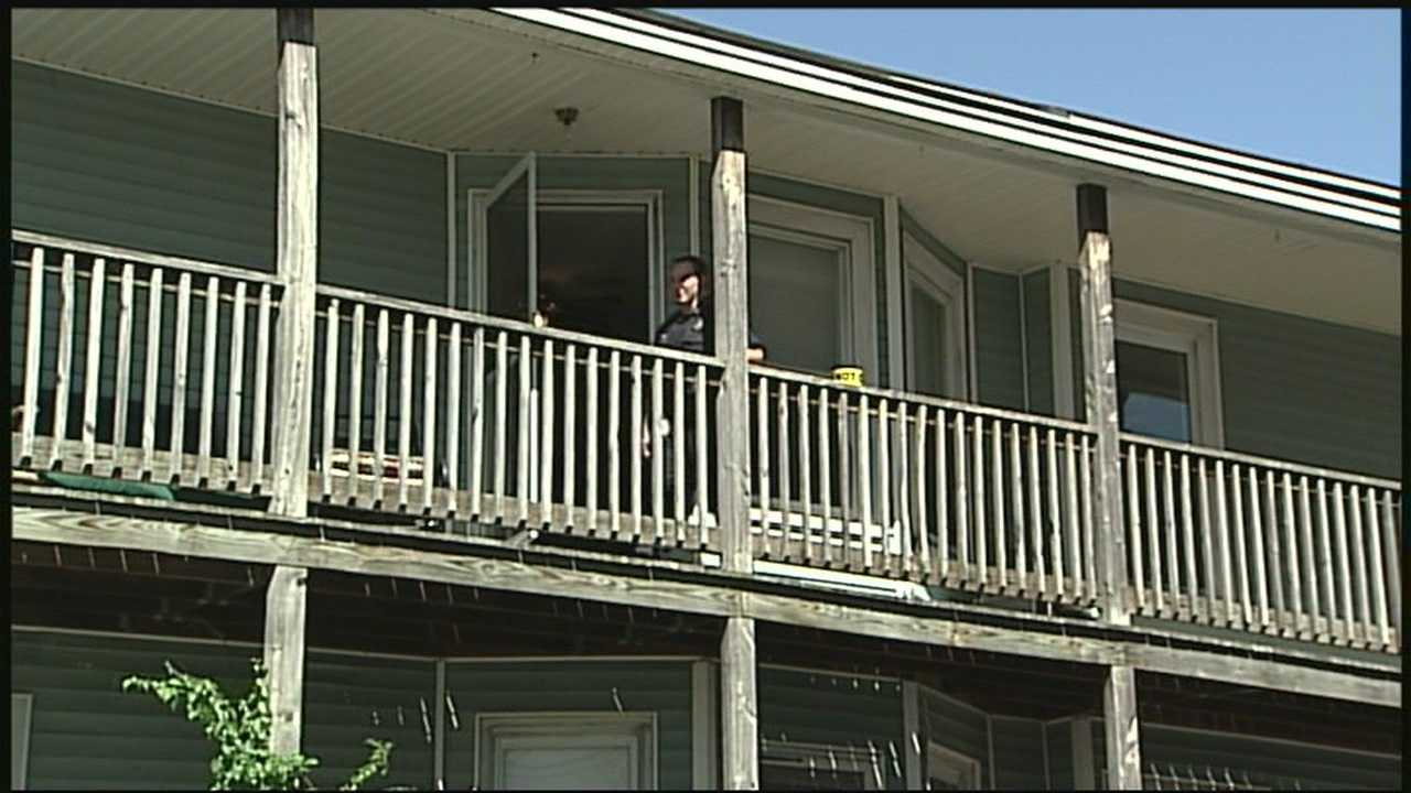 Man shot during break-in