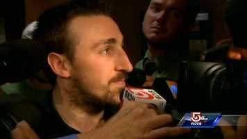 Left wing Brad Marchand.