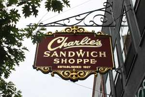 Charlie's Sandwich Shoppe was in the national spotlight when President Barack Obama stopped there on June 12, 2013, but the Boston hot spot is rich in history.