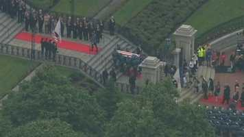 Among those scheduled to speak at the memorial service include Democratic Gov. Deval Patrick, former Republican Govs. William Weld and Jane Swift, and Andrew Card, a Massachusetts native who served as White House chief of staff under former President George W. Bush.