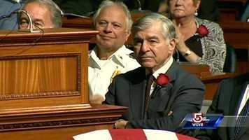 Former Gov. Michael Dukakis
