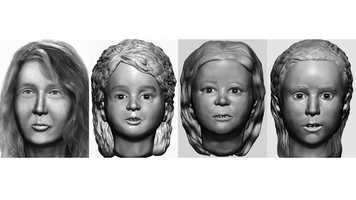 Authorities are hoping these updated composite images will help them identify the family members found dead in 1985 and 2000 in the woods near Allenstown.