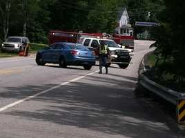 A bicyclist from Watertown was struck and killed while riding in a fundraiser for the American Lung Association in Maine on Friday morning.