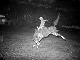 The arena was also transformed into a venue better suited for cowboys.