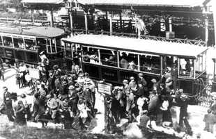 Construction of railroad in the 1850s and Exeter and Hampton trolley line made Hampton Beach the tourist destination it is today (History Of The Town Of Hampton)