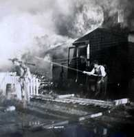 The third major conflagration took place in 1950. Damages were valued at $350,000, or $3,293,322.42 ($3.29 million) in today's money (Lane Memorial library)