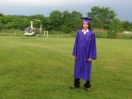 Sparkhawk grad takes flight