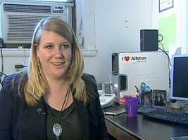 Alana Olsen runs Allston Village Main Streets.