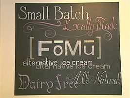 FoMu features vegan ice cream.