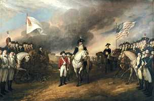 The fighting ended between England and the colonies when Lord Cornwallis surrendered at the Battle of Yorktown, Virginia in October 1781. This was 7 years after the raid on Fort William and Mary. The war officially ended in 1783 with the Treaty of Paris.