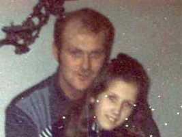 """In 1973, William O'Brien (see here with his daughter) was driving on Morrissey Boulevard when a car pulled up next to him. Police said that inside were James """"Whitey"""" Bulger and John Martarano. According to his testimony, Martarano, acting under Bulger's and Howie Winter's orders, shot and killed O'Brien with a machine gun from the passenger's seat of the car.Jury found prosecutors did not prove their case in this death."""