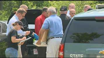 June 22: State police with dogs return to Hernandez's home to conduct an additional search.