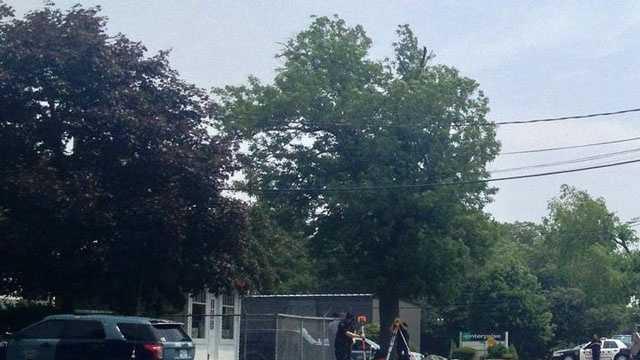 West Bridgewater crash scene