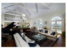 The home has 4,970 square feet of living space.