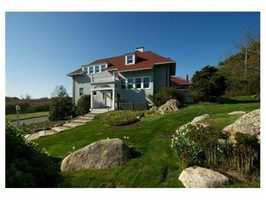58 Eastern Point Boulevard is on the market in Gloucester for $3.3 million.