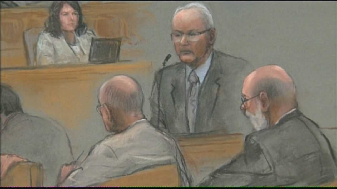 Bulger used expletive at witness testifying against him