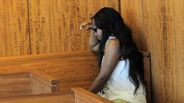 Shayana Jenkins Hernandez Fiancee in Court 062713