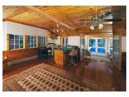 The home has a landmark location -- Great Pond Road.