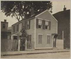 The Thomas McSolla House on 687 Second St. in South Boston during the 1930s
