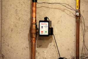 The water shutoff allows you to turn off your water main using your smartphone, tablet or PC.