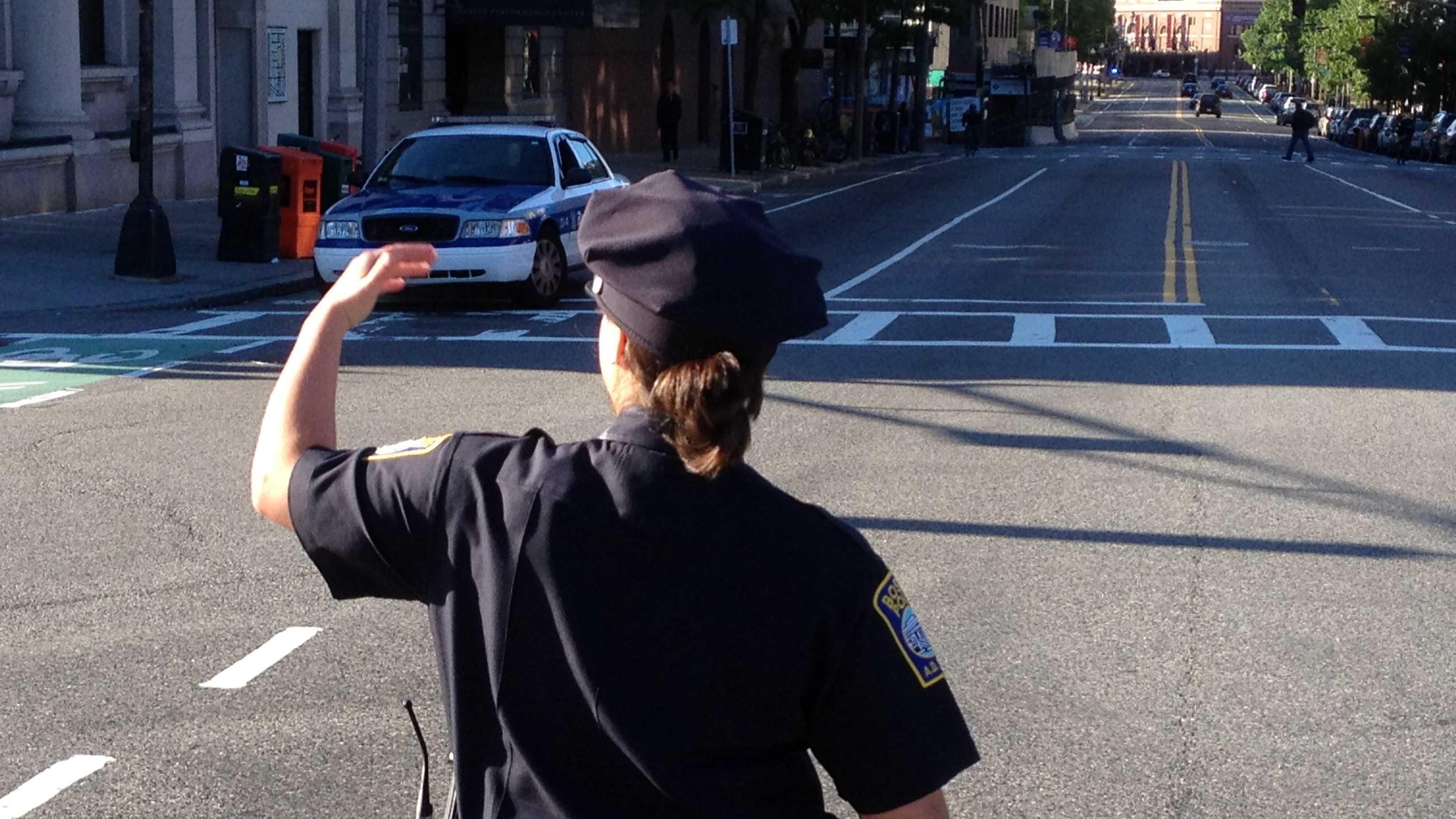 Traffic cop 070313