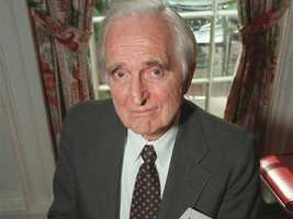 Doug Engelbart was the inventor of the computer mouse and developer of early incarnations of email, word processing programs and the Internet. (January 30, 1925 – July 2, 2013)
