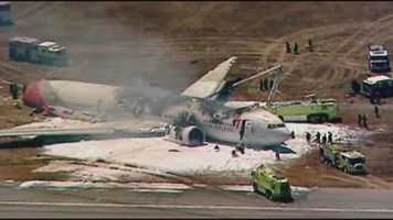 A Boeing 777 operated by Asiana Airlines crashed while landing Saturday at San Francisco International Airport.