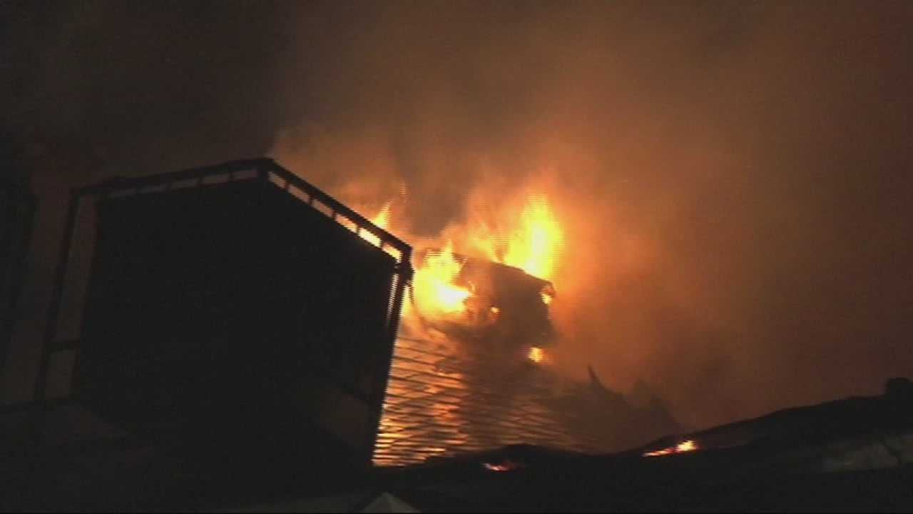 Residents rescued from intense flames
