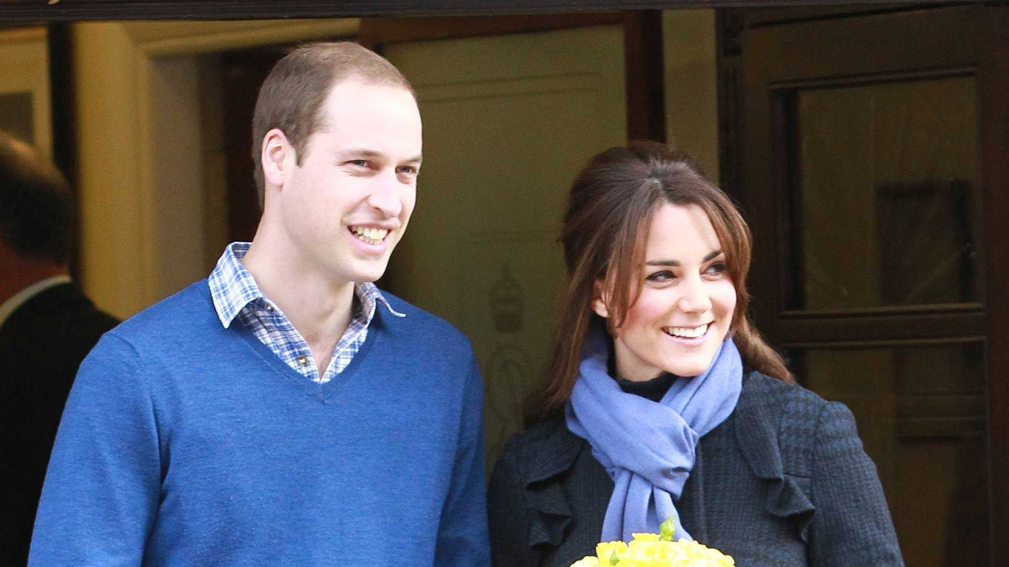 Prince William through years - pregnancy
