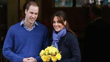 Prince William Kate Middleton 070913