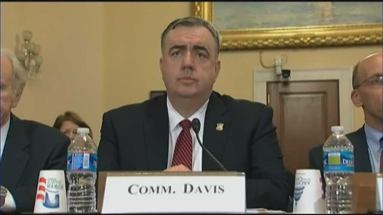 Davis back in DC to testify about Marathon bombing