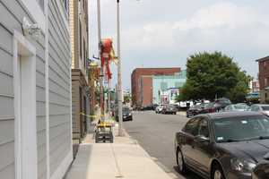 Construction is still taking place in South Boston