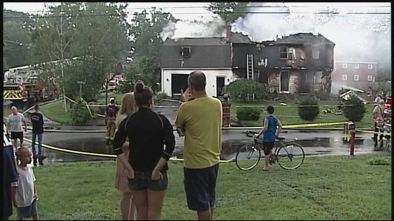 Person killed in house fire in Nashua