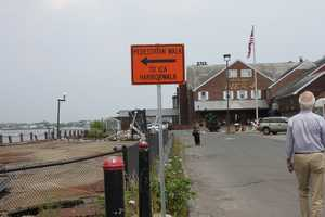 Because of construction, it was becoming increasingly difficult to get to Anthony's Pier 4 (Area at time of restaurant's July 2013 closing)