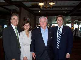 Ted Kennedy visited Anthony's Pier 4