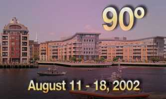 02) August 11 - 18, 2002 - The longest heat wave of the 21st century, and the only record-breaking heat wave in the city of Boston in the past ten years.Boston experienced eight days at or above 90 degrees.