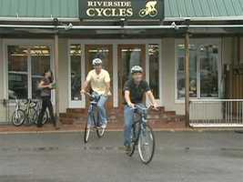 Riverside Cycle is located in The Tannery.