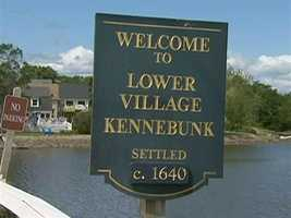 The population of Kennebunk is 12,000.