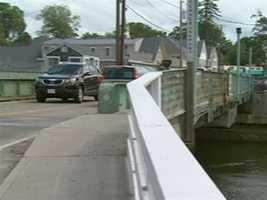 This bridge separates Kennebunk and Kennebunkport.