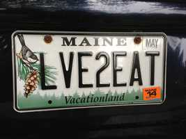 LVE2EAT - Donna Speirs from Kennebunk echos the feeling a lot of us have - Love 2 Eat!
