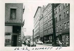 Leverett Street between 1958 and 1960