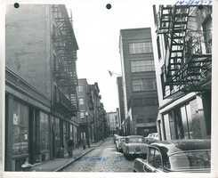 Norman Street in 1961