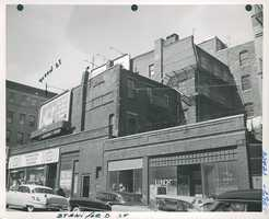 Green and Staniford Street in 1958
