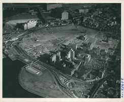 West End project area looking northeasterly, circa 1959
